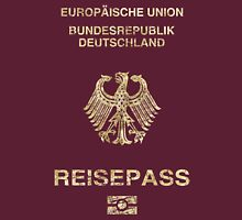 German Passport Vintage Unisex T-Shirt