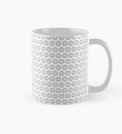 Benzene Rings (White) Mug