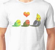 Small birds love Unisex T-Shirt