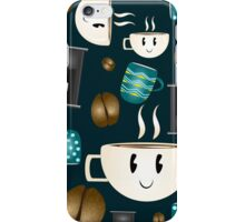 Coffee and cups iPhone Case/Skin