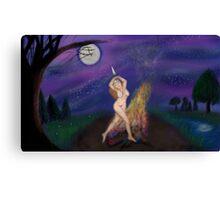 Full Moon Rite Canvas Print