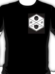 the modern gentleman shield black T-Shirt