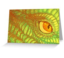 Primordial Eye Greeting Card