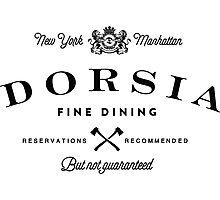 Dorsia Fine Dining Photographic Print
