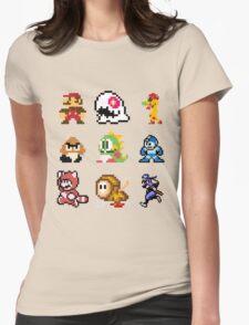 8 bit Womens Fitted T-Shirt