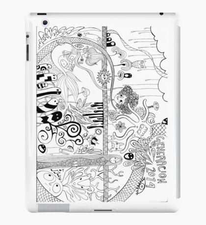 Generación MERICI 2014 iPad Case/Skin