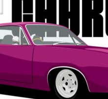 HEY CHARGER - PINK Sticker