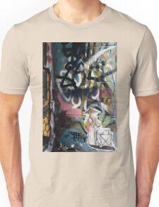 Graffiti Art Hosier Lane Unisex T-Shirt