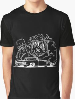 Rat Fink Style Monster & 1969 Coronet Graphic T-Shirt