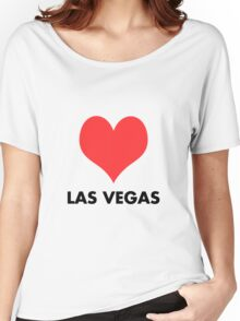 Love Las Vegas Women's Relaxed Fit T-Shirt