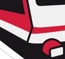 Train express train railway Sticker