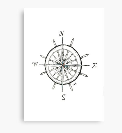 Captain's Compass Canvas Print
