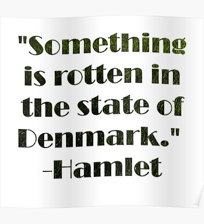 rotten state denmark American occupation of europe began in 1945the british were ordered to admit west indians in the late 40'sthe late king hussein told the father of a student that the americans will leave when europe is burning from end to end.