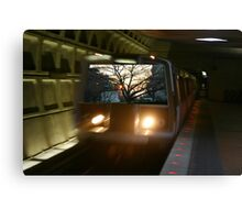 DC Metro Sunset Canvas Print