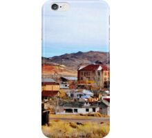 A Town In Nevada iPhone Case/Skin