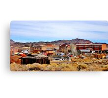A Town In Nevada Canvas Print