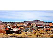 A Town In Nevada Photographic Print