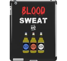 Blood Sweat and Beers iPad Case/Skin