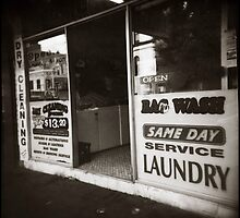 { Surry Hils Laundry } by Lucia Fischer