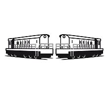 Train railway of Rangieren Lok lok by Motiv-Lady