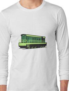 Train train Rangieren locomotive Long Sleeve T-Shirt