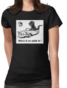 Move It ! Womens Fitted T-Shirt