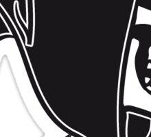 Death hooded sunglasses skull Sticker