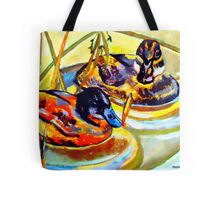 Ducks Tote Bag
