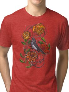singing magpie shirt Tri-blend T-Shirt