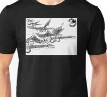 Flying Guitars Unisex T-Shirt
