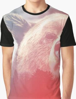 Lonely Mountain Bear Graphic T-Shirt