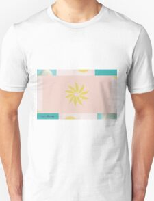Beach and Sun Collage Unisex T-Shirt