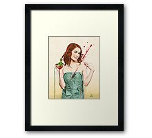 Slaughterhouse Starlets: Felicia Framed Print