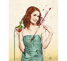 Slaughterhouse Starlets: Felicia Photographic Print