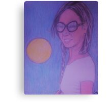 Sunshine Smile in Sweet Shades Canvas Print