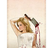 Slaughterhouse Starlets: Emma 2 Photographic Print