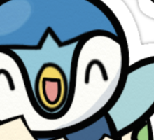 Piplup from Egg Sticker