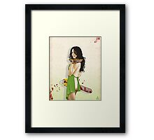 Slaughterhouse Starlets: Mary-Louise Framed Print