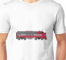 Train railway diesel locomotive Unisex T-Shirt