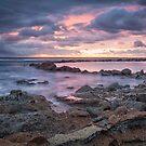 Norah Rockpool, sunrise by damiankafe