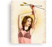 Slaughterhouse Starlets: Sarah Michelle Canvas Print