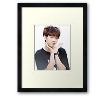 INFINITE - Nam Woohyun - K-Pop Framed Print