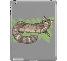 Lounging Maine Coon iPad Case/Skin