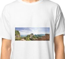 Wild Great Wall of China Panorama Classic T-Shirt