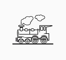 Train railroad steam locomotive Unisex T-Shirt