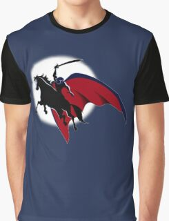 The Horseman in the Moon Graphic T-Shirt