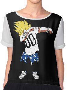 Super Saiyan Goku Dab Shirt - RB00466 Chiffon Top