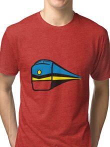Train railway Tri-blend T-Shirt