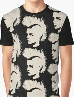 Punk Girl – unichrome print Graphic T-Shirt
