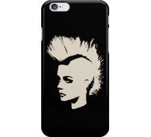 Punk Girl – unichrome print iPhone Case/Skin